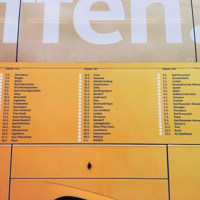 Wahlkampfbus Klöckner